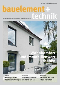 bauelement+technik Titel 2018